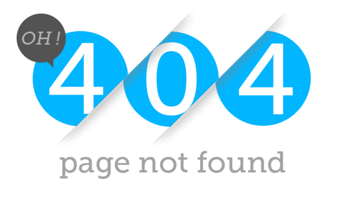 404 Error Website Page | Onwards and Up
