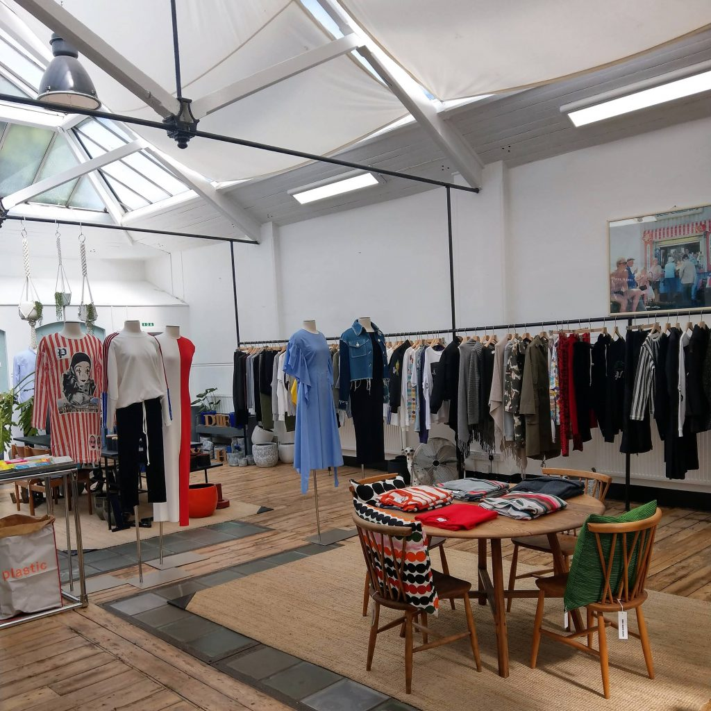 Paper Mache Tiger Fashion Showroom London | Onwards and Up