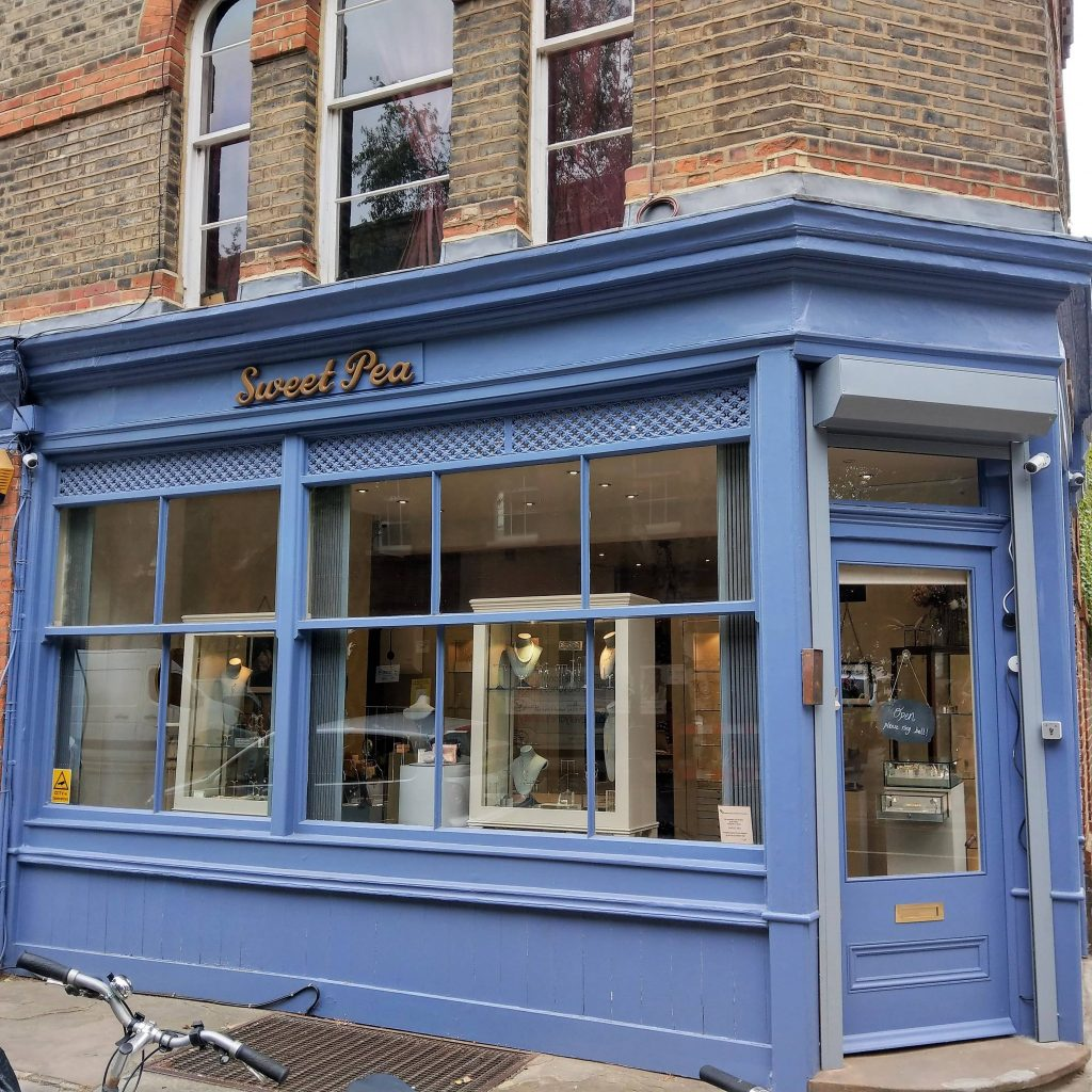 sweet pea jewellery Store Primrose Hill London | Onwards and Up