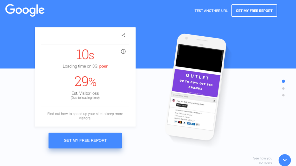 Test my site Google SEO Tool | Onwards and Up