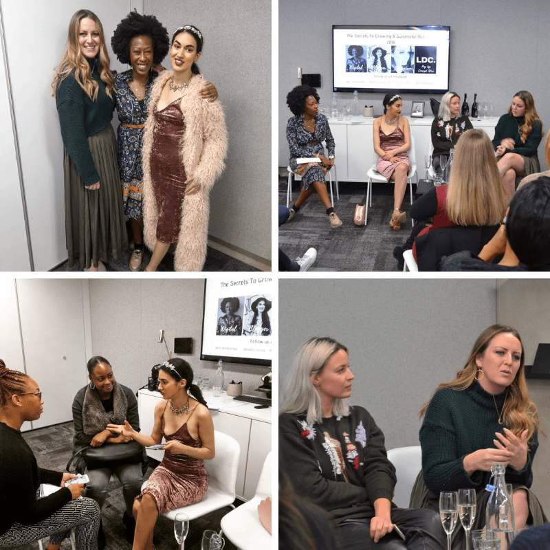 Fashion Social media event London | Onwards and Up