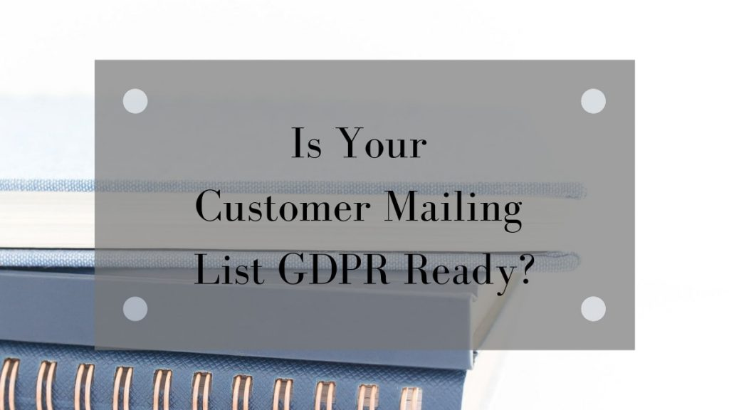 Is Your Business GDPR Ready? | Onwards and Up