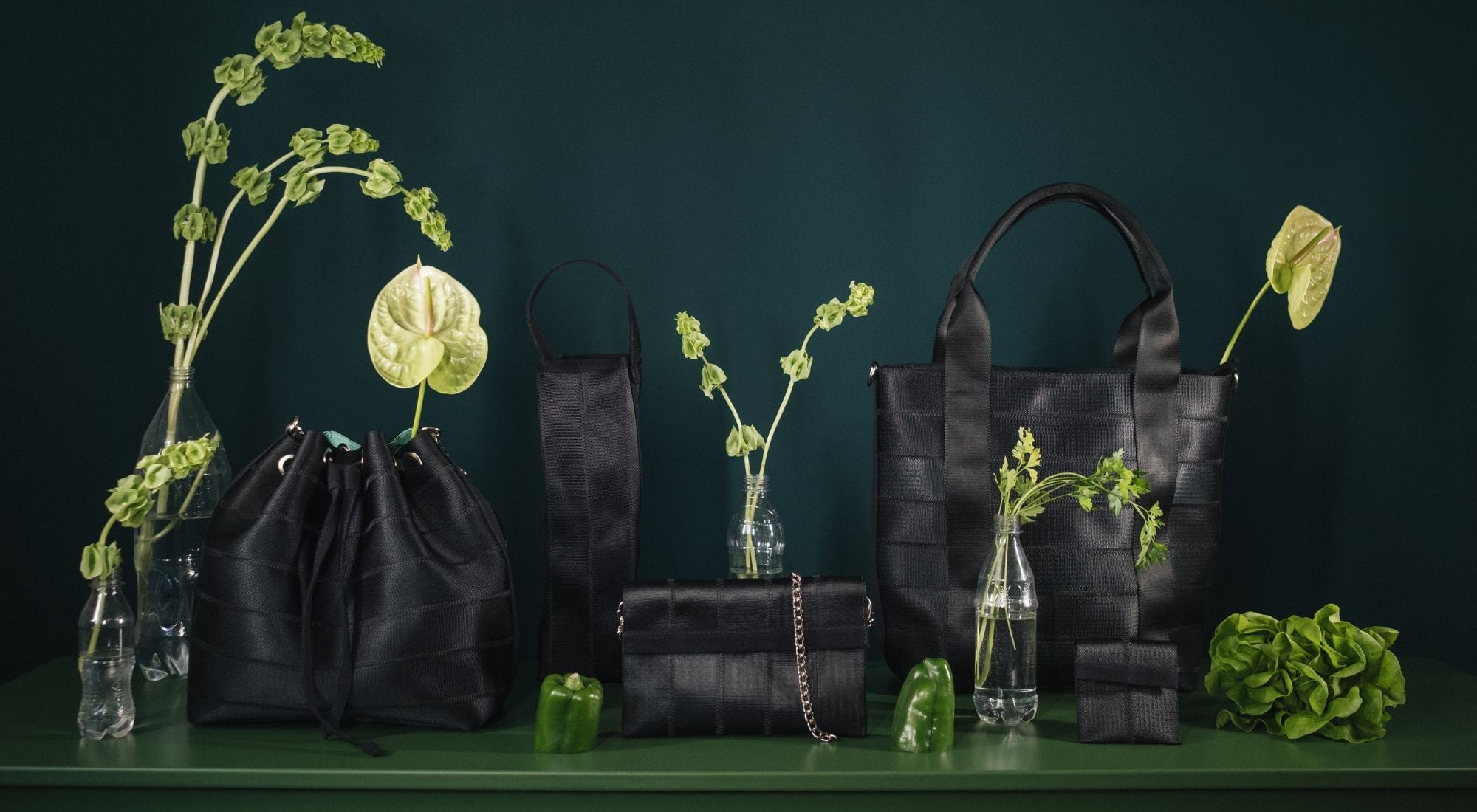 Eko Seatbelt sustainable handbags and accessories From Belo | Onwards and Up