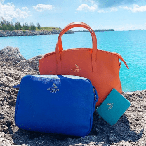 Bermuda Born Luxury Affordable Leather Handbags | Onwards and Up