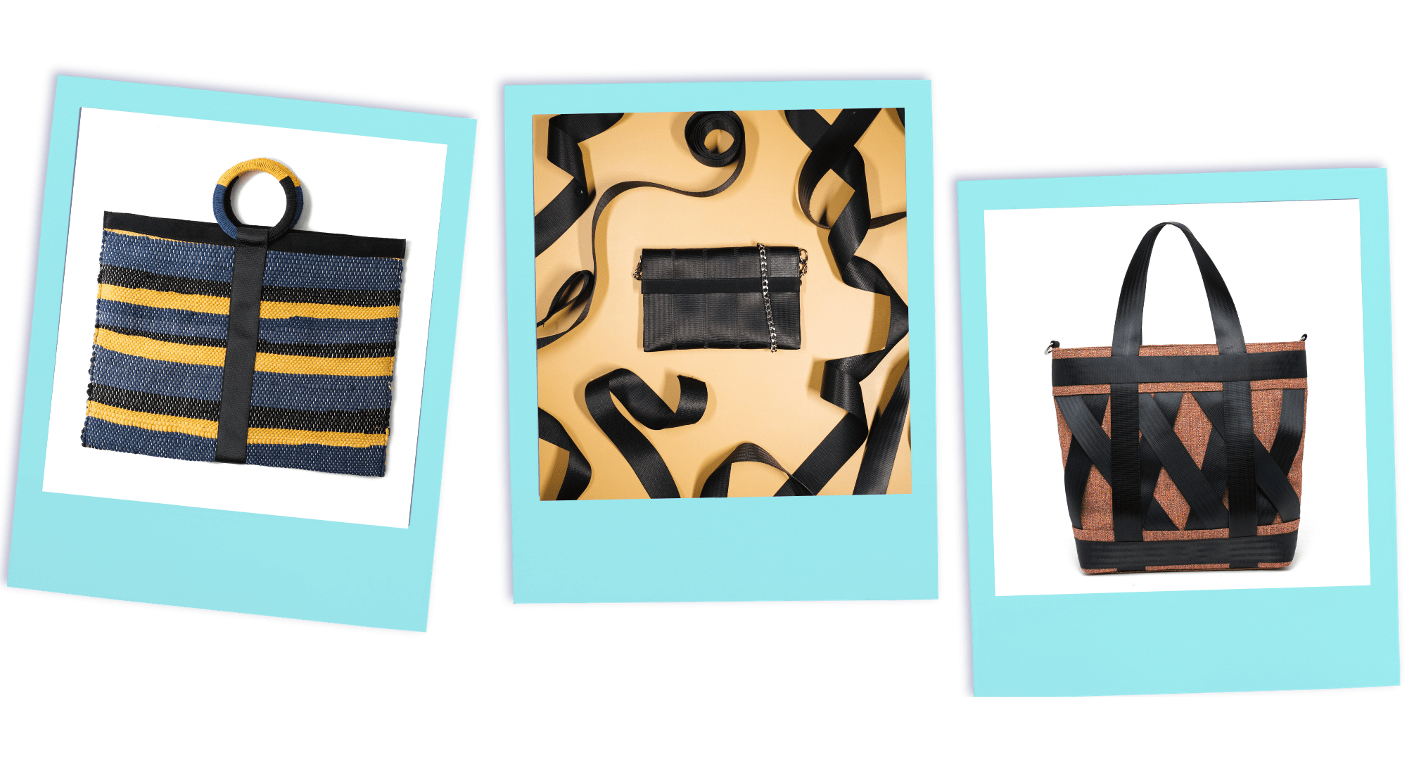 From Belo seatbelt handbags and accessories | Onwards and Up