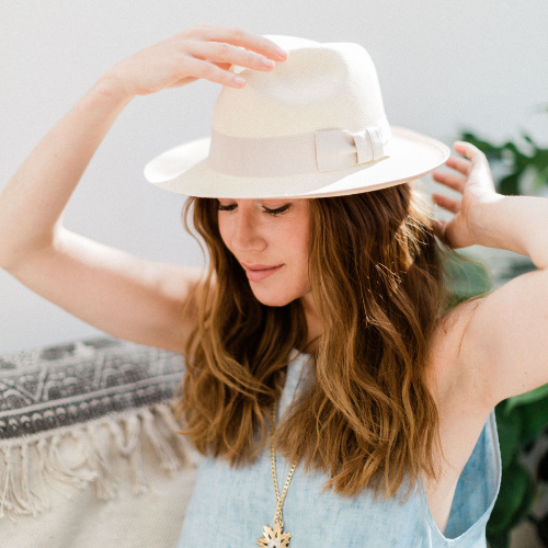 Cream Panama Hat Kinderwilder | Onwards and Up